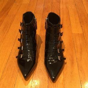 Nine West black ankle boots